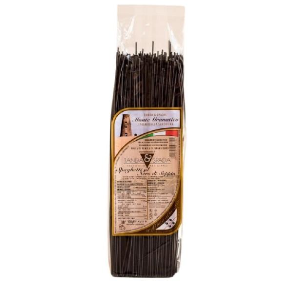 spaghetti al nero di seppia in vendita online su Isolas: negozio dove poter acquistare pasta al nero di seppia