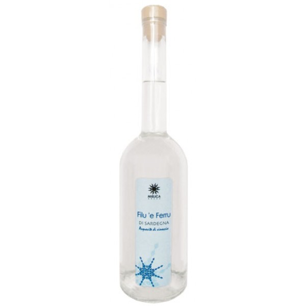 a bottle of grappa drink