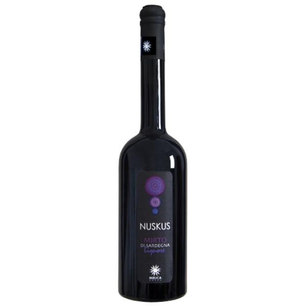 Bottiglia di liquore di Mirto Sardo rosso in offerta su Isolas Shop: negozio di prodotti tipici sardi