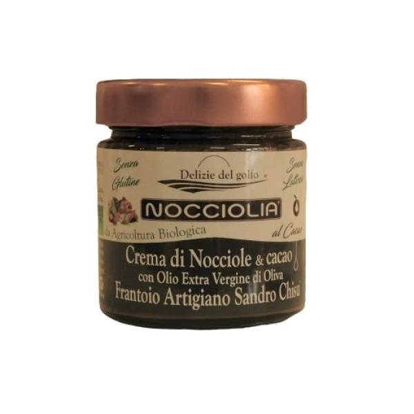 crema nocciole e cacao spalmabile biologica