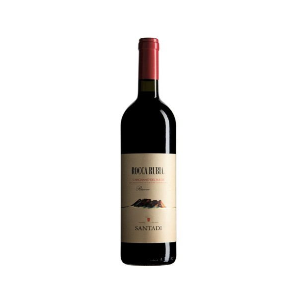 rocca rubia sardinian wine carignano del sulcis for sale on Isolas.it