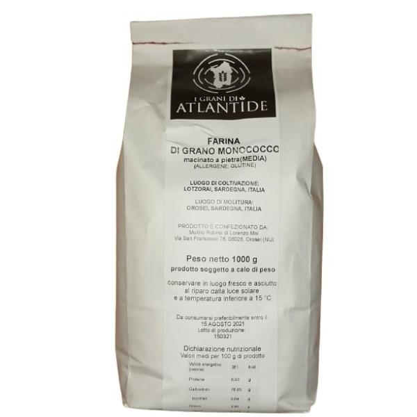 farina di grano monococco sarda in vendita su Isolas.it