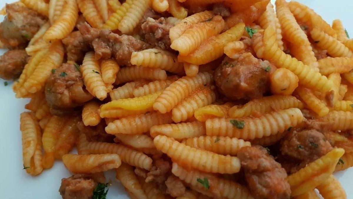 malloreddus alla campidanese: ricetta originale di Isolas.it